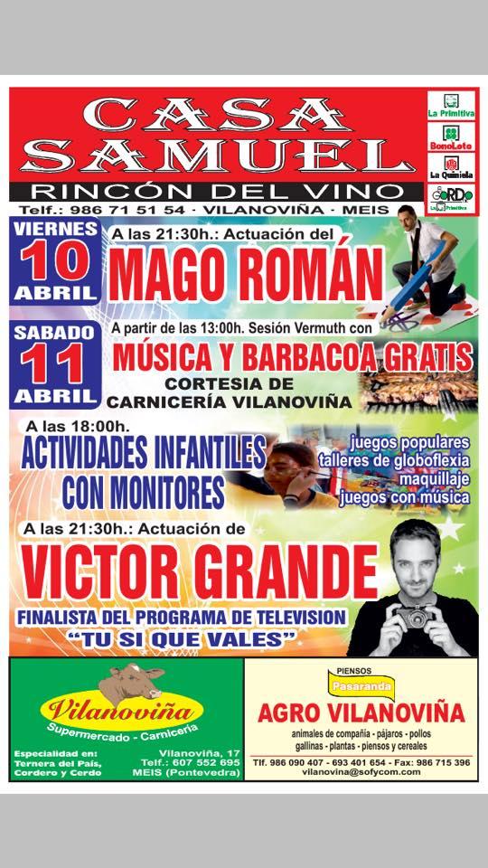 San Gregorio en Vilanoviña, Paradela, Meis. Casa Samuel.