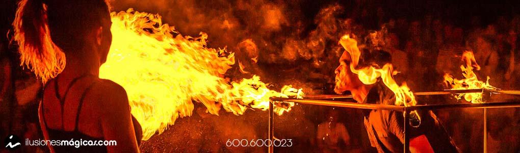 malabares de fuego