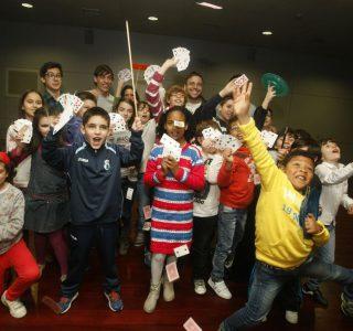 Más de 70 participantes en el Curso de Magia de Vilagarcía